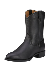 Load image into Gallery viewer, Ariat 10002280 Men's Heritage Roper Black Leather