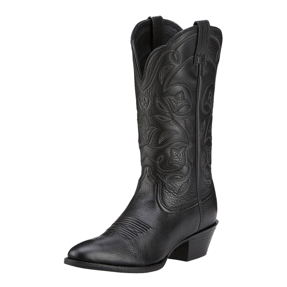 Ariat 10001037 Women's Heritage R-Toe Western Boot