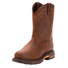 Load image into Gallery viewer, Ariat 10001198 Men's Workhog Waterproof Brown Oily Leather