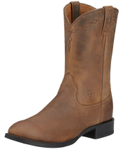 Load image into Gallery viewer, Ariat 10002284 Men's Heritage Roper Brown Leather