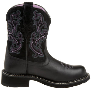 Ariat 10004729 Women's Fatbaby II Black Deertan