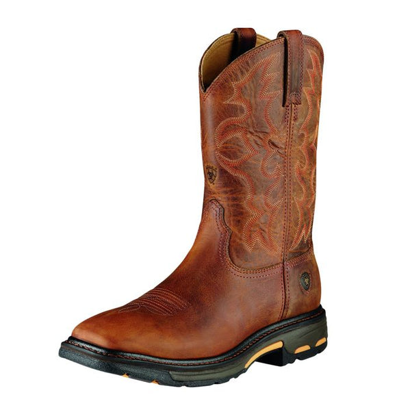 Ariat 10007043 Men's Workhog Wide Square Toast