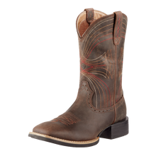 Load image into Gallery viewer, Ariat 10010963 Men's Sport Wide Square Toe Western Boot Brown