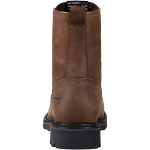 "Ariat 10011916 Men's Cascade 8"" Wide Square Alamo Brown Work Boot"