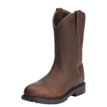 Load image into Gallery viewer, Ariat 10012924 Men's Rigtek Pullon Waterproof Composite Toe Oiled Brown