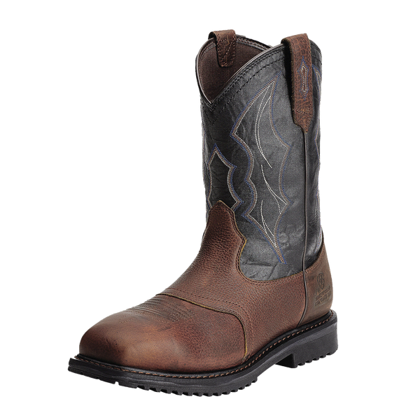Ariat 10012932 Men's Rigtek Wide Square Waterproof Oiled Brown