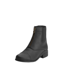 Load image into Gallery viewer, Ariat 10015198 Youth Scout Zip Paddock Boot Black