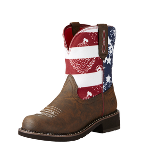 Ariat 10020076 Women's Fatbaby Heritage Toasted Brown Glory