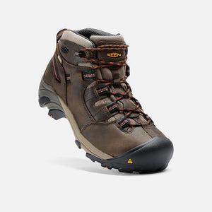 Keen #1007009 Men's Detroit Mid Discontinued Olive Blk