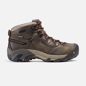 Keen #1007009 Men's Detroit Mid Olive Black