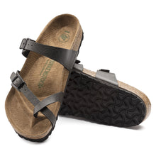 Load image into Gallery viewer, Birkenstock #1009512 Women's Mayari Vegan Birko-Flor Anthracite