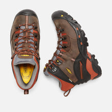 Load image into Gallery viewer, Keen #1009709 Men's Pittsburgh Hiker Soft Brown Orange