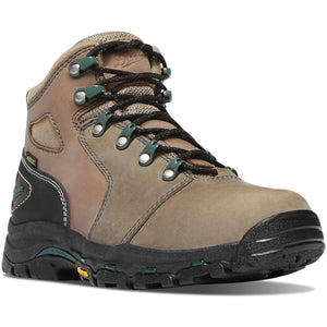 "Danner #13853 Women's Vicious 4"" Composite Toe Work Boot Brown Green"