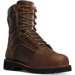 "Danner #16287 Men's Workman 8"" Alloy Safety Toe Brown"