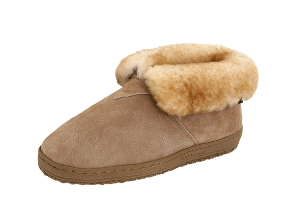Old Friend 421219 Men's Bootee Slipper Sheepskin