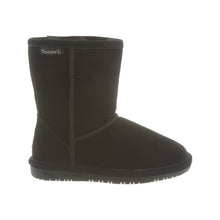 Load image into Gallery viewer, Bearpaw #608Y Kid's Emma Short Boot Black