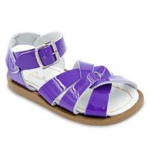 Load image into Gallery viewer, Saltwater Sandals by Hoy | Children's Original series #889 Shiny Purple