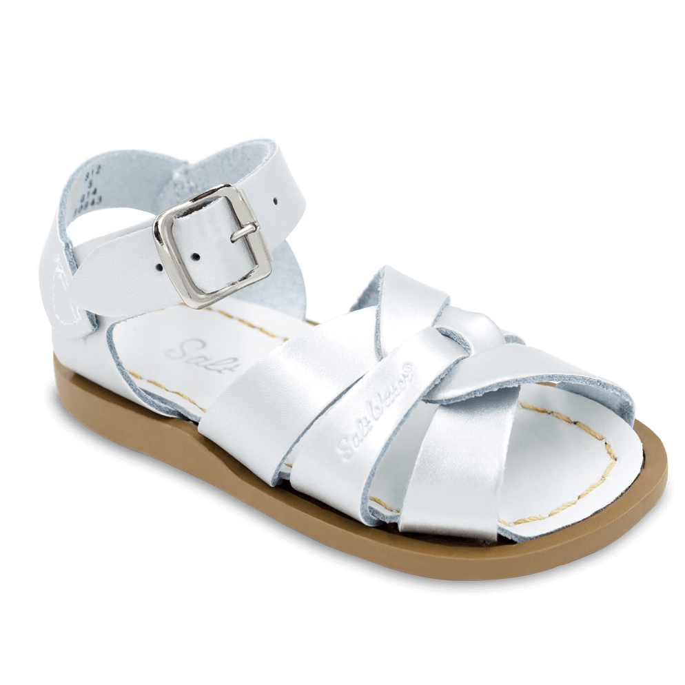 Saltwater Sandals by Hoy | Children's Original series #812 Silver
