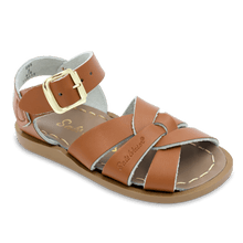 Load image into Gallery viewer, Saltwater Sandals by Hoy | Children's Original series #885 Tan