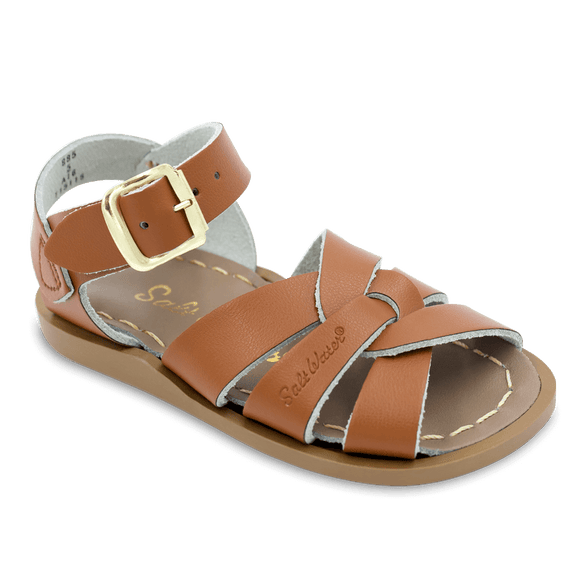 Saltwater Sandals by Hoy | Children's Original series #885 Tan
