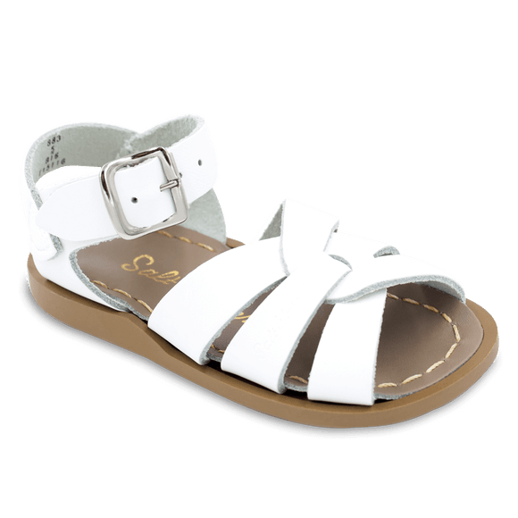 Saltwater Sandals by Hoy | Children's Original series #883 White