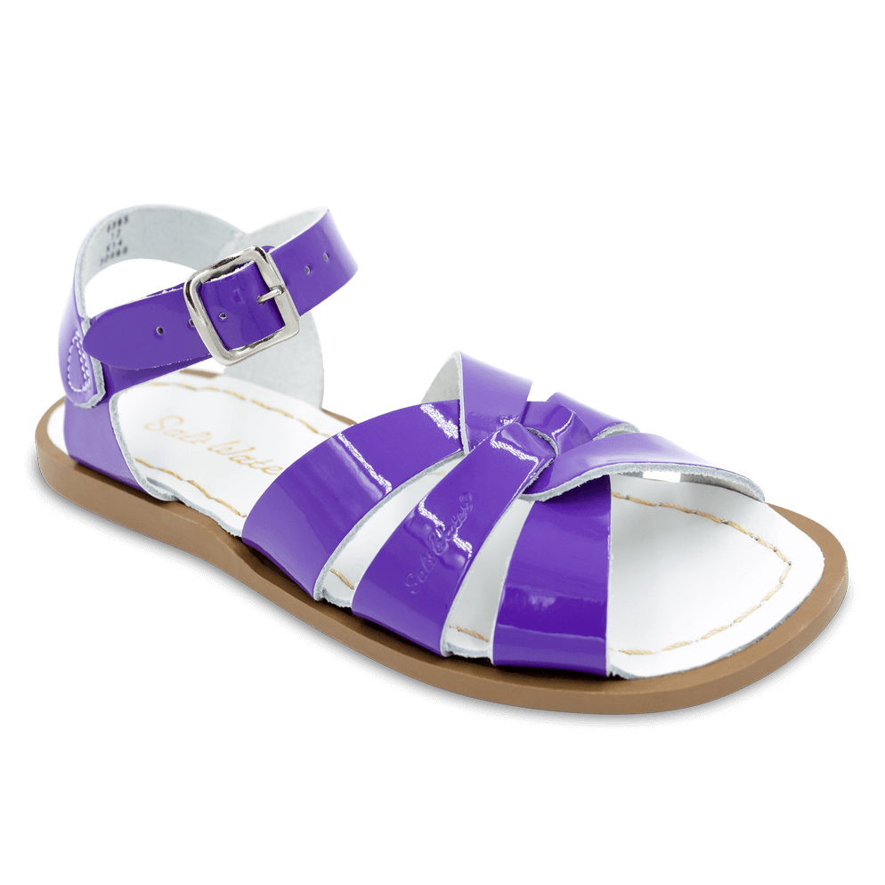 Saltwater Sandals by Hoy | Children's Original series #889 Shiny Purple