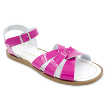 Load image into Gallery viewer, Saltwater Sandals by Hoy | Children's Original series #818 Fuschia