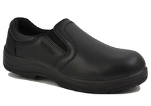 Load image into Gallery viewer, Workzone N460BLK Mens Slip On Work Shoe