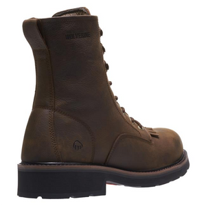 "Wolverine W10832 Mens Ranchero 8"" Soft Toe Work Boot"