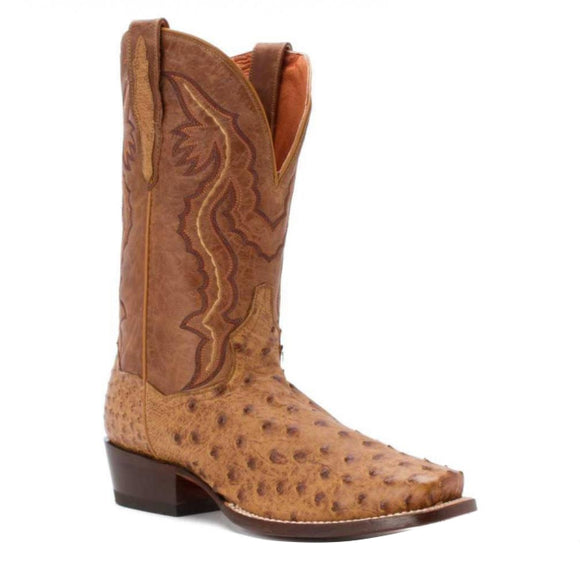 Dan Post #Dp2316 Men's Scottsdale Exotic Ostrich Boots