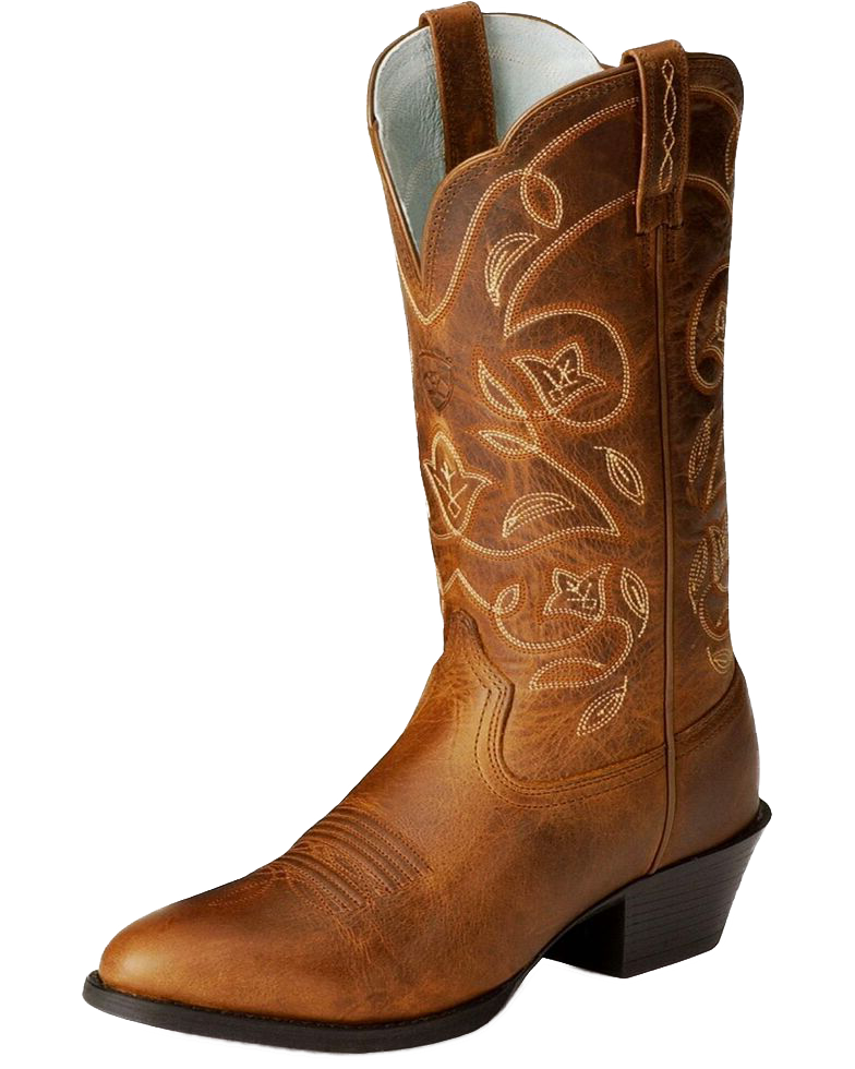 Ariat 10001015 Women's Heritage R-Toe Western Boot