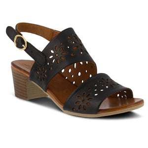 Spring Footwear Womens Mandalay Sandal Black