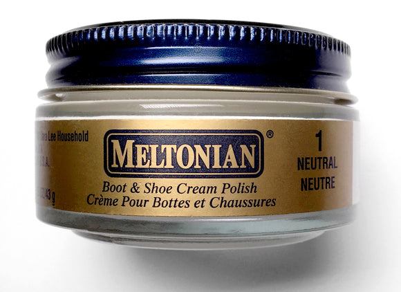 Meltonian Boot and Shoe Cream Polish, 1.55 Ounces