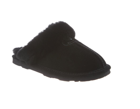 Bearpaw 671W011 Womens Loki Slide Slipper Black