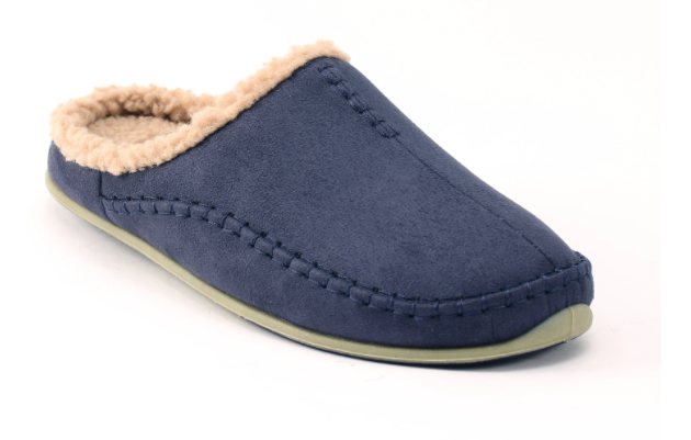 Deerstags NORDICMCSDNVY Mens Nordic Slipper Blue