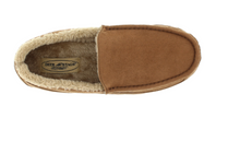 Load image into Gallery viewer, Deerstags SPUNMCSDCHE Mens Spun Chestnut Slipper