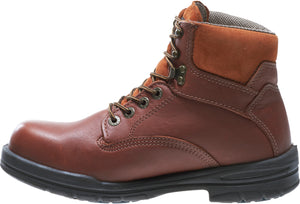 "Wolverine W03122 Men's Durashocks Direct-Attach Soft Toe Slip Resist 6"" Brown Boot"
