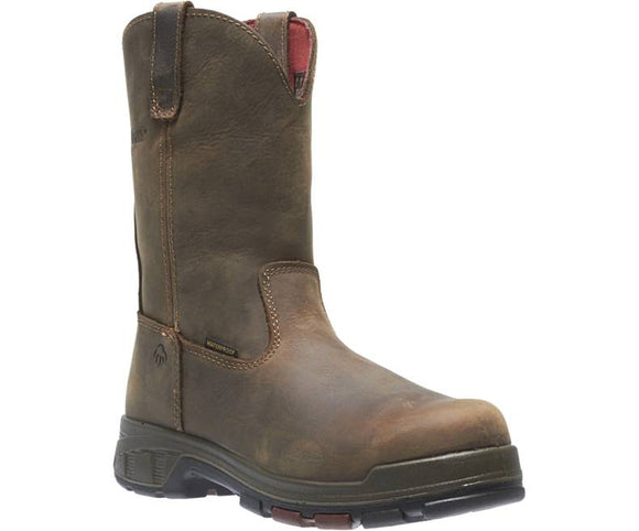 Wolverine #W10318 Men's Cabor Boot Comp Toe Dark Brown