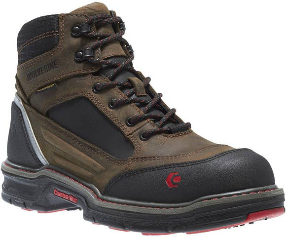 Wolverine W10483 Men's Overman Waterproof Carbonmax 6