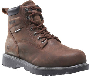 Wolverine #W10633 Men's Floorhand Steel Toe Boot Brown