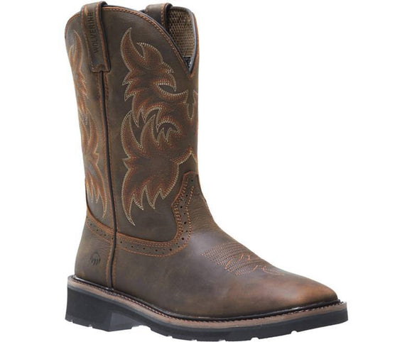 Wolverine #W10702 Men's Rancher Square Toe Steel-Toe Wellington