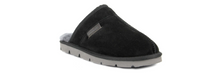 Load image into Gallery viewer, Superlamb Khulan Mens Moccasin Black
