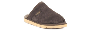 Superlamb Khulan Mens Moccasin Brown