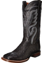 Load image into Gallery viewer, Dan Post DP2980 Men's Chandler Full Quill Ostrich Boots Black