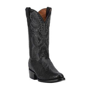 Dan Post DP2350R Men's Raleigh Antique Lizard Boot Black