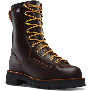 "Danner #10600 Men's 8"" Rain Forest Boot Brown"