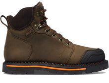 "Load image into Gallery viewer, Danner #13247 Men's Trakwelt 6"" Composite Toe Brown"