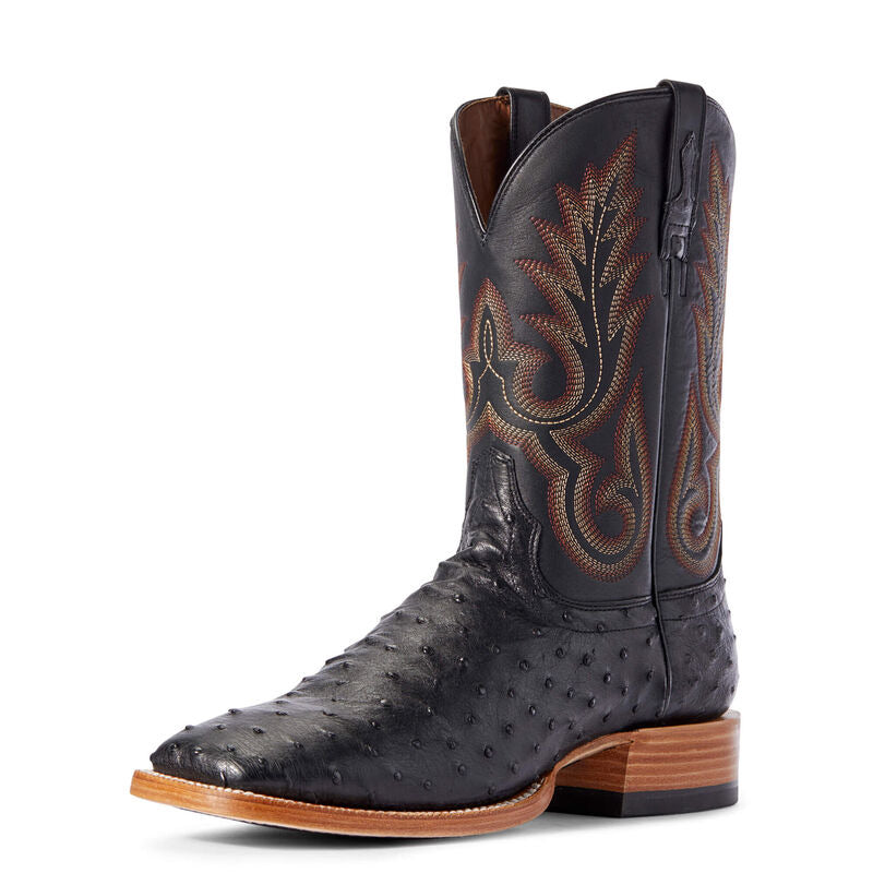 Ariat 10031577 Mens Full Quill Ostrich Western Boot