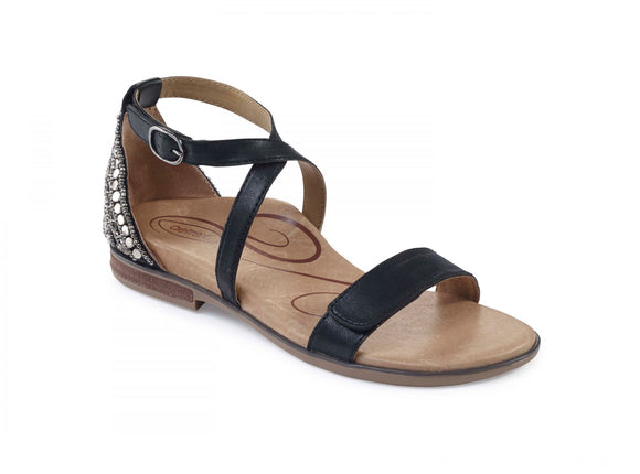 Aetrex Women's Brenda Adjustable Ankle Strap Sandal