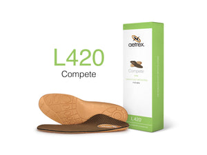 Aetrex Men's L420 Compete Flat/Low Arch Orthotic